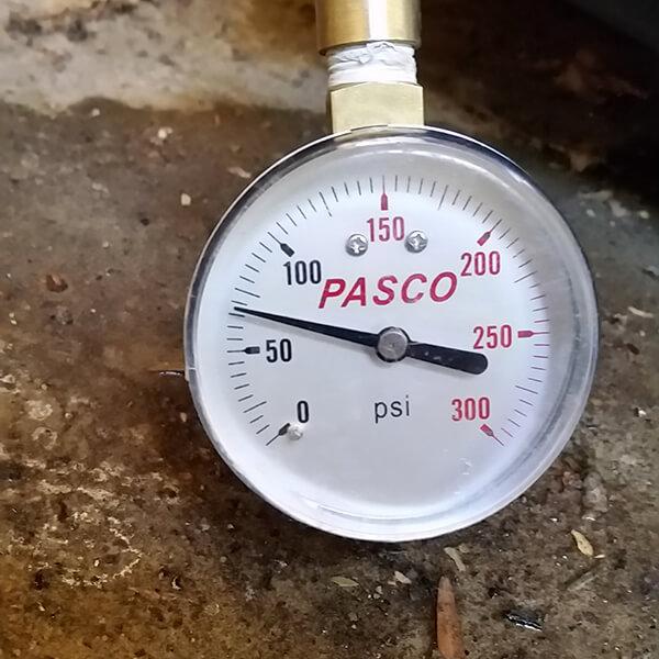 Water Pressure Repairs